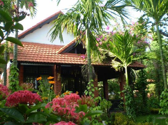 Betel Garden Villas: Homestay garden