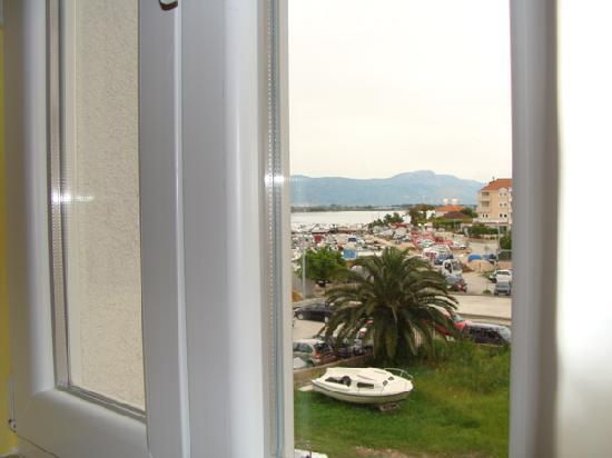 Ciovo Island, Kroasia: View from bedroom