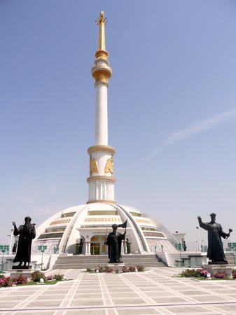 Turkmenistan Independence Monument