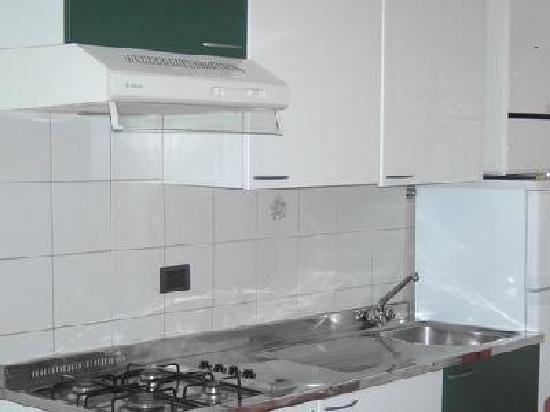 Residence Monaco: cucina senza forno