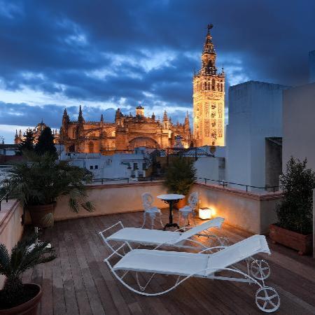 Hotel Casa 1800 Sevilla: Vista desde la terraza del Hotel