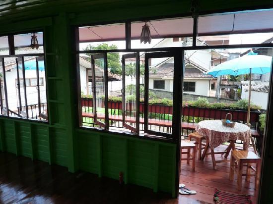 Baan Bua Homestay: Balcony from Inside
