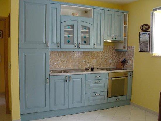 House Klaudija: Kitchen-two bedroom apartment