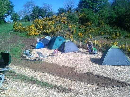 Garvagh, UK: Camping