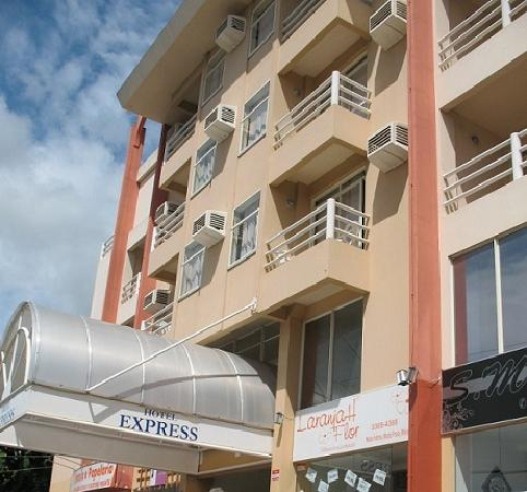 Praiatur Hotel Florianopolis: Fachada do Praiatur Express