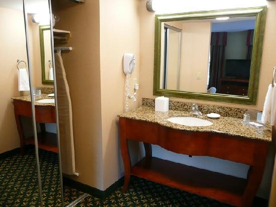 Hampton Inn & Suites By Hilton Williamsburg-Central: Vorraum zum Badezimmer