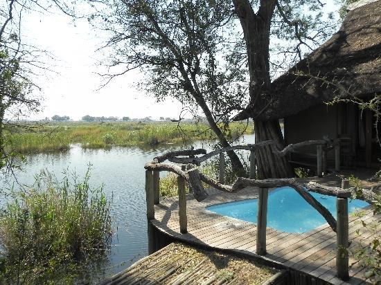 Wilderness Safaris Kings Pool Camp: View from our Room with the Plunge Pool