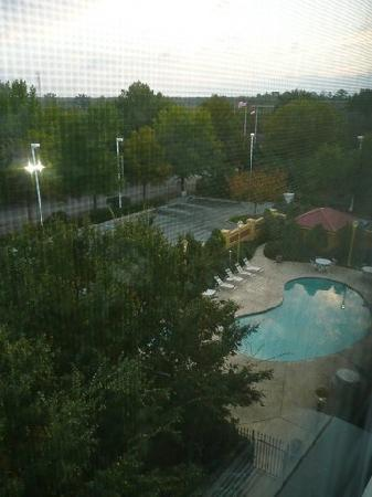 La Quinta Inn & Suites Durham Research Triangle Pk: Zimmerausblick auf Pool