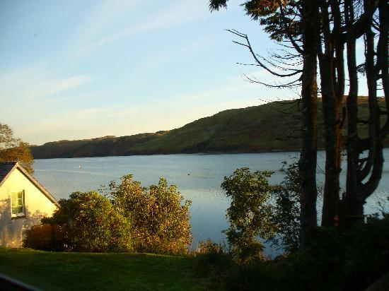 The Old Inn & Waterfront Bunkhouse: View from room 5