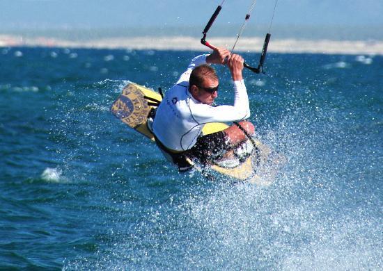 Kurt n Marina: Kurt'n'Marinas - kitesurfing