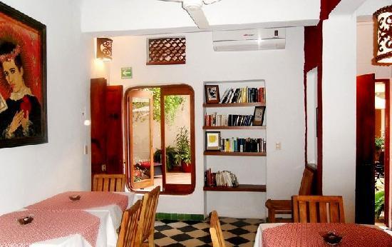 "Catedral Vallarta Boutique Hotel: A great breakfast lounge called  ""La flor de la Canela"""