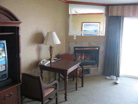 Elizabeth Street Inn: Fireplace