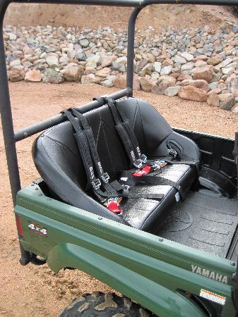 side by side back seats picture of play dirty atv tours cotopaxi tripadvisor. Black Bedroom Furniture Sets. Home Design Ideas