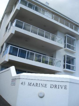 45 Marine Drive: We had top floor appt.