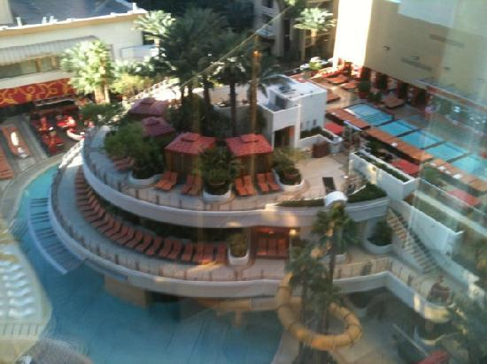 View Of Pool From Huge Wall Of Windows Picture Of Golden Nugget Hotel Casino Las Vegas
