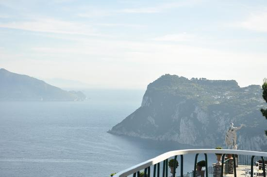 Caesar Augustus Hotel: one of many amazing views