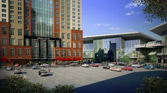 Embassy Suites by Hilton Denver - Downtown / Convention Center: Close to the Convention Center