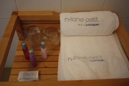 Hotel Llane Petit : Bathroom Amenities