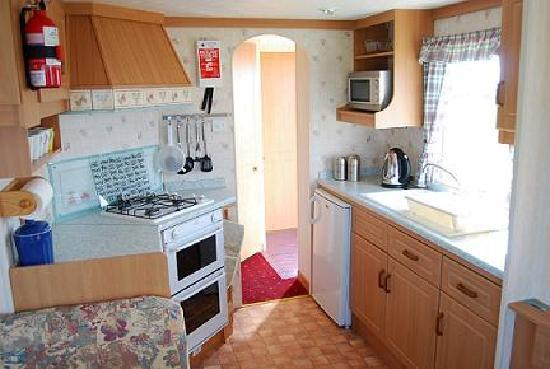 Banff, UK: Interior of 2 bedroom caravan
