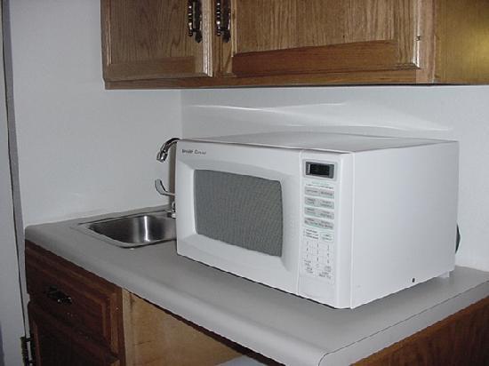 Motel 6 Dale IN: Microwave