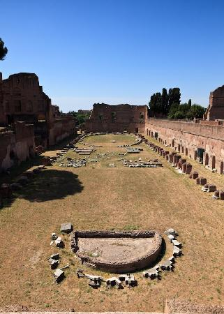 Ancient Rome: Up Palentine Hill