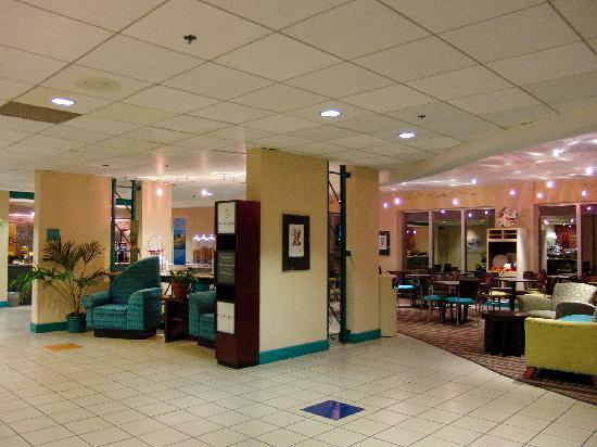 Hampton Inn Brooksville / Dade City: Our expansive lobby area has one entire wall of windows to let in natural light.