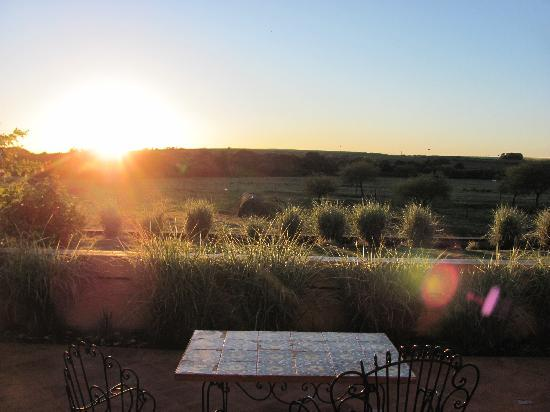 Estancia Tierra Santa: Morning view from our private terrace