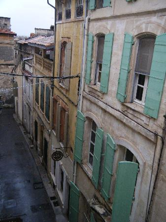 Hotel De L'Amphitheatre: la vue de la chambre 16
