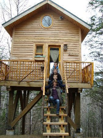 Family Picture Of Canopee Lit Sacre Coeur Saguenay Tripadvisor