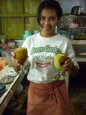 Green Garden Restaurant : My favorite Avocado shake! Didn't know avocado can taste so good drinking it!