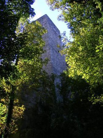 Altes Schloss Hohenbaden Tower