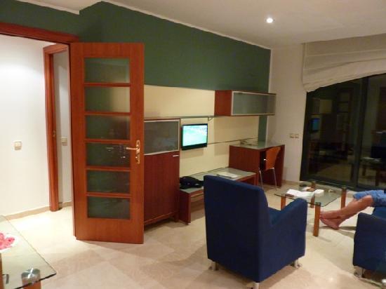 Apartaments Marina: sala de estar