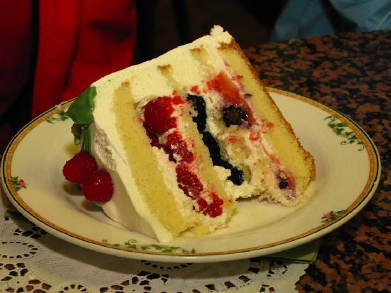 Sweet Lady Jane Triple Berry Cake