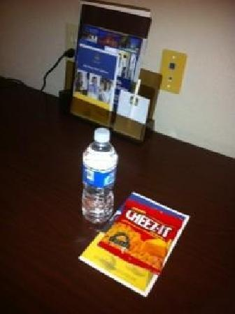 Russellville, AL: Best Western welcome gift !!!