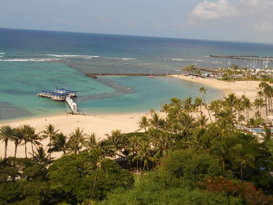 Ocean View From Our 13 Floor Balcony Picture Of Hale Koa