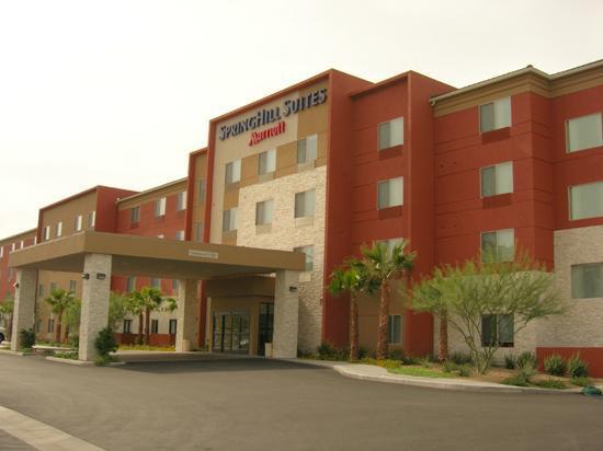 SpringHill Suites Las Vegas Henderson : The east-facing side