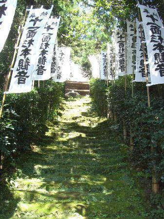 Sugimotodera Temple: 石段