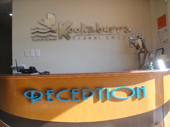 Kookaburra Travel Lodge: Kookaburra reception