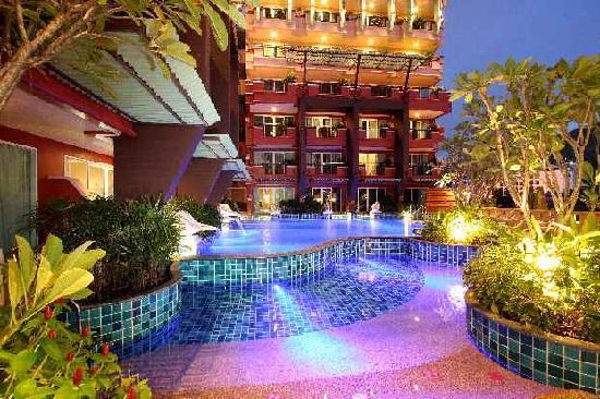บลูโอเชี่ยน รีสอร์ท แอนด์ สปา ภูเก็ต: Swimming Pool