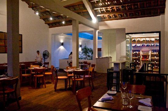 Waterfront Danang Restaurant Bar Upstairs Dining Room