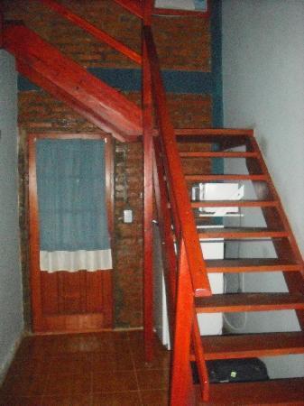 Marangatu: escalera al piso superior