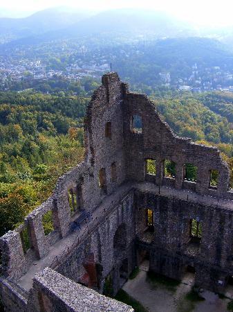 Burg Hohenbaden: Althes Schloss