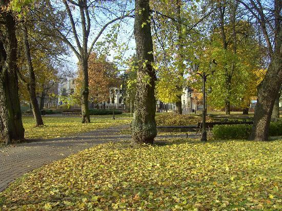 Radisson Blu Ridzene Hotel: Park to old town