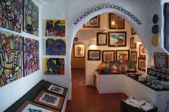 Punta del Este, Uruguay: Casa Pueblo - inside