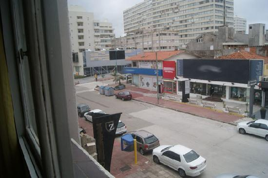 Punta del Este Shelton Hotel: window view