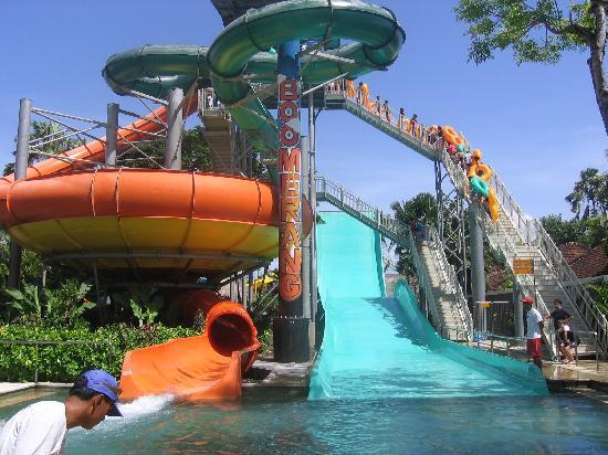 White Rose Kuta Resort, Villas & Spa: Waterbom Park   Wild!!!