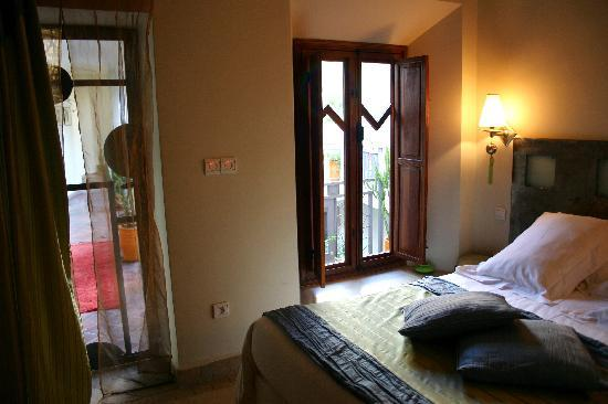 Riad Jardin des Reves: relaxing bedroom