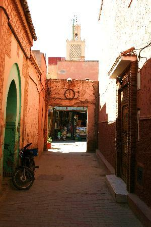 Riad Jardin des Reves: characterful