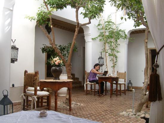 Riad les Orangers d'Alilia Marrakech: vista 1