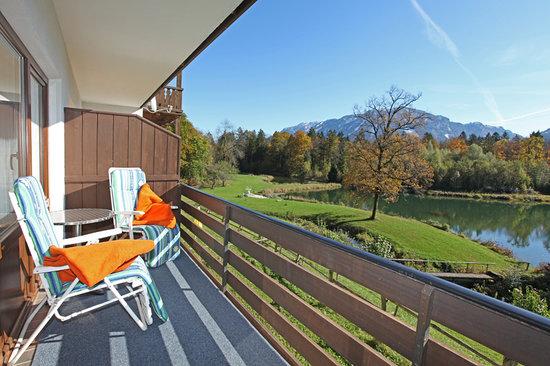 Hotel Gablerhof: Blick vom Balkon
